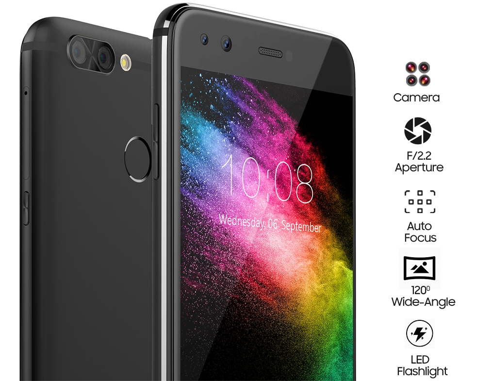 b323feea84a With its dual rear cameras of 13 megapixels and 8 megapixels and the dual  front cameras of 8 megapixels each